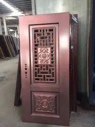 Standard Mild Steel Copper Kage (Window Door), Single, Thickness: 70mm