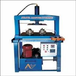 Semi Automatic Hydraulic Four Die Plate Making Machine