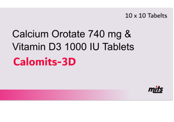 Calcium Orotate With Vitamin D3 Tablets