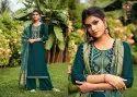 Triple A Kashmiri Palazzo Style Salwar Suits Catalog