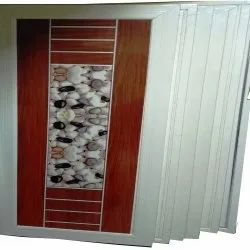 Polished Heavy Design PVC Door, For Home, Exterior