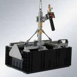 Electric Battery Lifting Tackle, For Industrial, Capacity: 200Kg