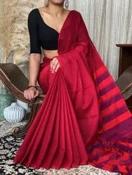 Casual Wear Narayanpet Sarees, With Blouse Piece