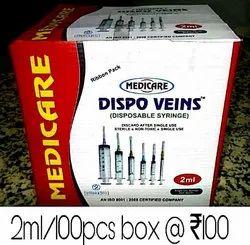 Polypropylene Medical Syringes
