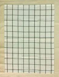 White Cotton Checked Kitchen Towels, Wash Type: Hand Wash, Size: 50x70cm