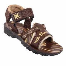 PVC Daily wear Mens Brown Sandal, Size: 4