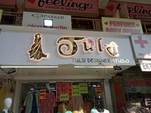 Stainless Steel Led Sign Board