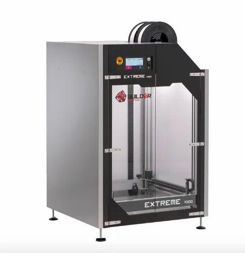Builder 3d Printer Extreme 1000 PRO Series