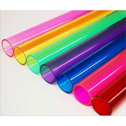 Colored Acrylic Pipe