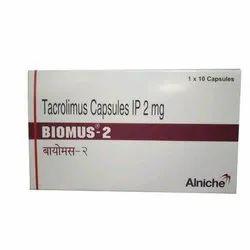 2 mg Tacrolimus Capsules IP