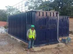 Containerized Effluent Treatment Plant