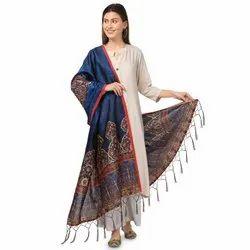 Casual Wear Silk Printed Dupatta