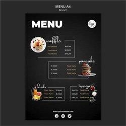 Restaurant Menu Card Printing Service