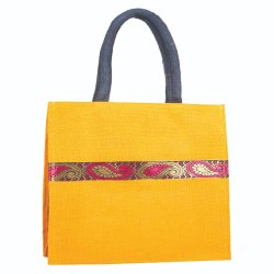 Open Rope Handle Jute Shopping Bags, Capacity: 5 Kg