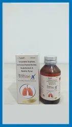Terbutaline Sulphate (1.25 mg) + Bromhexine HCL (2 mg) + Guaiphenesin (50mg)