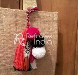 Decorative Pom Pom Tassel