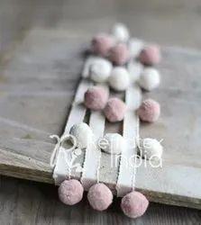 Handmade Pom Pom Fringe