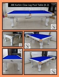 JBB Karbin Designer Claw Leg Pool Table (K-2)