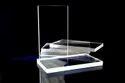 Transparent Quartz Glass Plate
