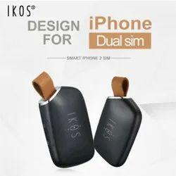 Antique Black IKOS Dual Sim Adaptor For iPhone Device