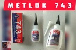 Metlok 743 Adhesive, Bottle, 20 gm