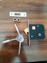 Star Key Sliding Lock