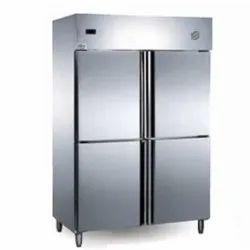SS Kitchen SPL Four Door Freezer, Capacity: Upto 400 L, Automation Grade: SS304