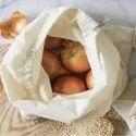 100% Cotton Woven Mesh Onion Bag