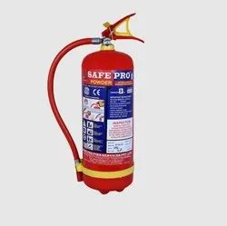 Safe Pro Mild Steel ABC Fire Extinguisher, For Industrial