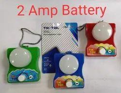LED Ceramic Tik-Tok Emergency Rechargeable Light, B15, 15 W