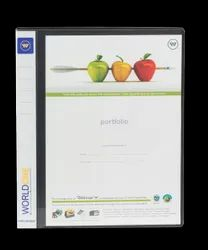 Polypropylene A4 2D Ring Binder ( 25mm ring)  With Front View Pocket