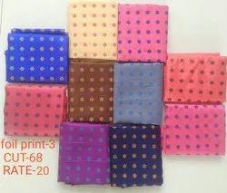 Foil Print-3 Jacquard Blouse Fabric