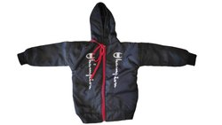 Zipper Kids Black Jacket, Full Sleeves