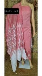 Ladies Fashion Printed Cotton Silk Suits Material
