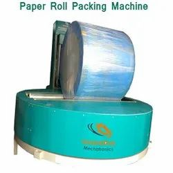 Paper Roll Reel Wrapping Machine