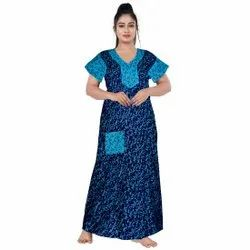 Cotton Night Suits For Ladies, Size: UPTO 44 XXL