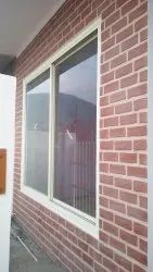 Modern Polished Aluminium Window, For Residential and Commercial