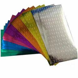 Multi Color Hot Foil Labels