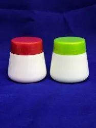 Oval Shape Cream Jar