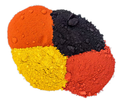 Iron Oxide Pigment Colors, Grade: Technical Grade, Powder