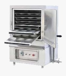 Stainless Steel Commercial Food Warmer Idli Steamer, For Restaurant