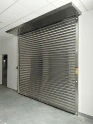 Full Height Single Phase Automatic Steel Rolling Shutter