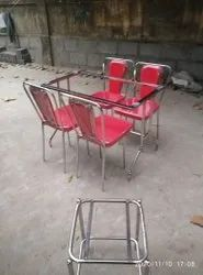 Omm Furnitures Table Chair Set, For Hotel