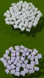 Milky White ABS Plastic Granules