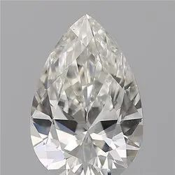 Pear 0.75 H VS1 GIA Certified Natural Diamond