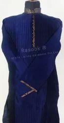 Designer Blue Pintuck Kurta Pajama