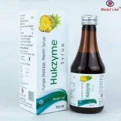 Fungal Diastase & Pepsin Syrup - Hukzyme