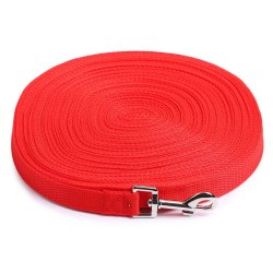 Red PP Dog Lead