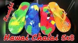 Rubber Multicolor Hawai 5x8, For Footwear