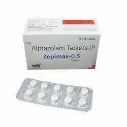 Alprazolam Tab 0.5mg